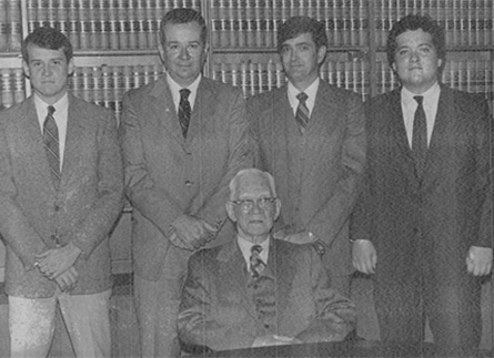 Group Portrait From the Former Firm